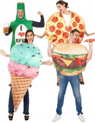 Déguisement de groupe fast food
