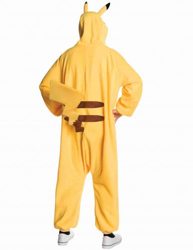 Déguisement combinaison Pikachu Pokemon™ adulte-1