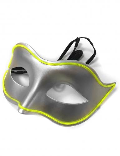 Masque vénitien néon adulte-1