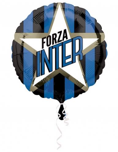Ballon aluminium rond Inter™ 43 cm-1