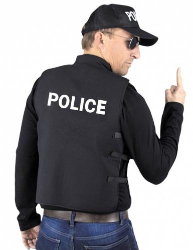 Faux gilet pare-balles police adulte-1