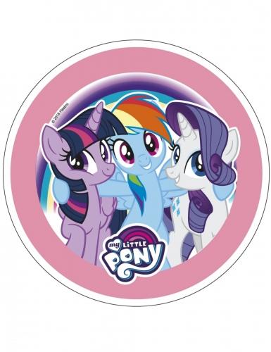 Disque en azyme My Little Pony™ 21 cm aléatoire