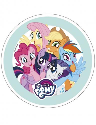 Disque en azyme My Little Pony™ 21 cm aléatoire-1