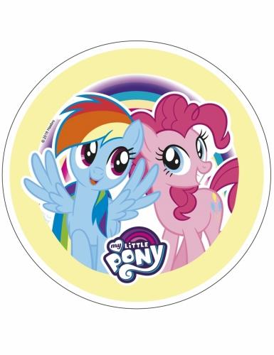 Disque en azyme My Little Pony™ 21 cm aléatoire-2