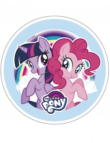 Disque en azyme My Little Pony™ 21 cm aléatoire-3