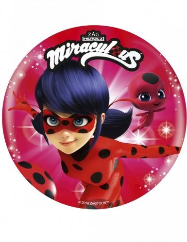 Disque en sucre Ladybug™ 21 cm aléatoire