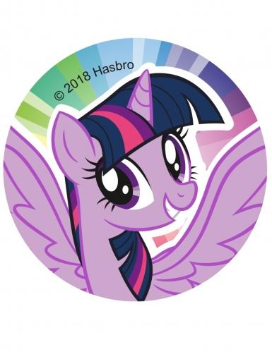 12 Décorations en sucre pour biscuits My Little Pony™ 6 cm-1