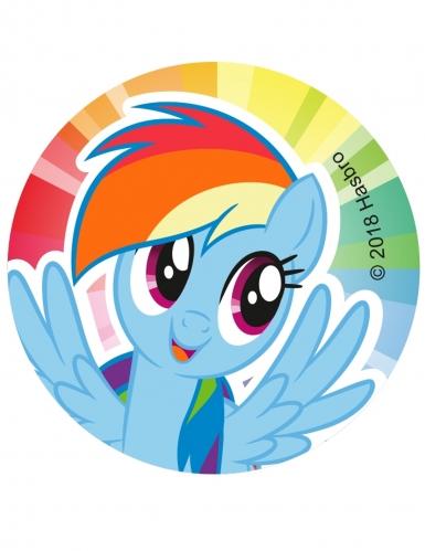 12 Décorations en sucre pour biscuits My Little Pony™ 6 cm-3