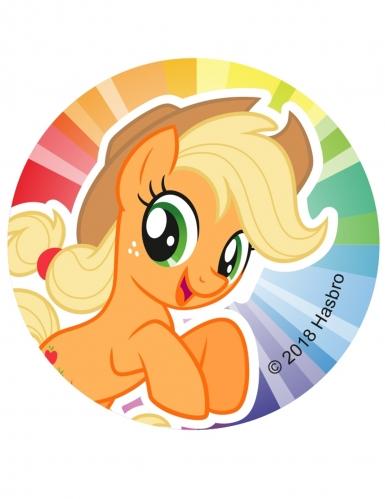 12 Décorations en sucre pour biscuits My Little Pony™ 6 cm-6