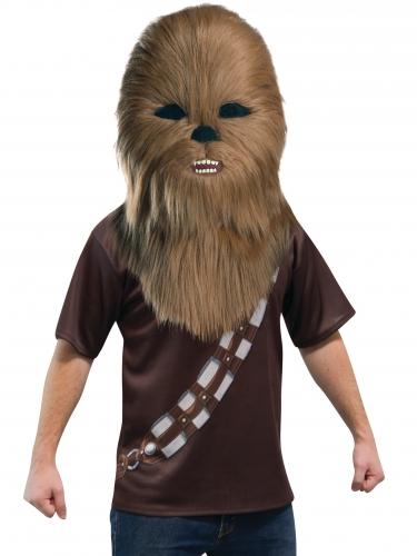 Masque mascotte Chewbacca™ adulte