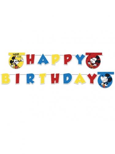 Banderole Happy Birthday Mickey Super Cool™ 2 m