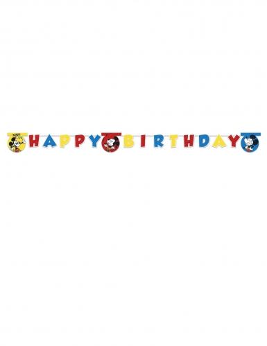 Banderole Happy Birthday Mickey Super Cool™ 2 m-1