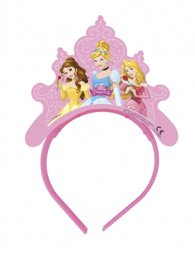 4 Tiares en carton Princesses Disney Dreaming™
