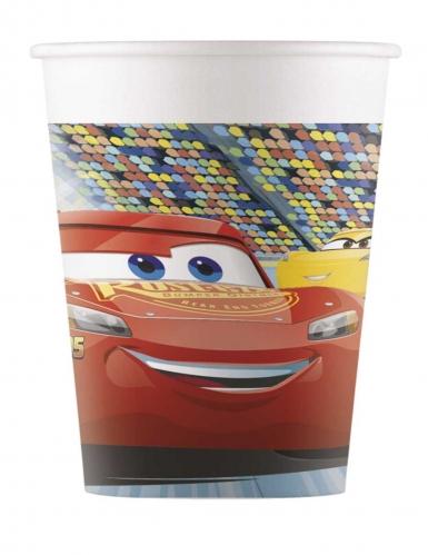 8 Gobelets en carton Cars 3™ 200 ml