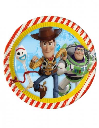 8 Assiettes en carton Toy Story 4™ 23 cm
