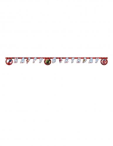 Guirlande Happy Birthday Miraculous Ladybug™ 2 m-1