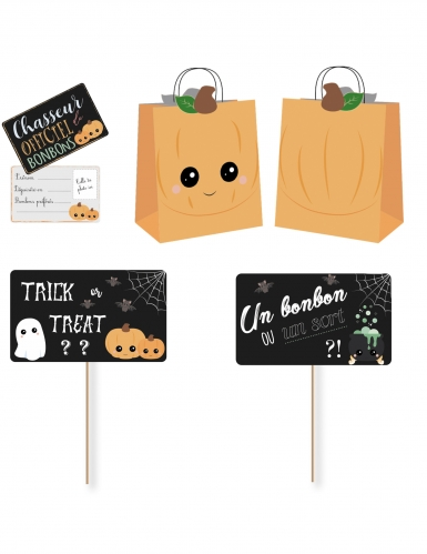 Kit spécial chasse aux bonbons sweety Halloween