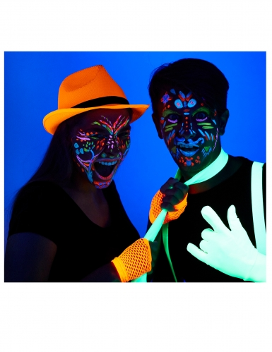 Kit maquillage squelette UV