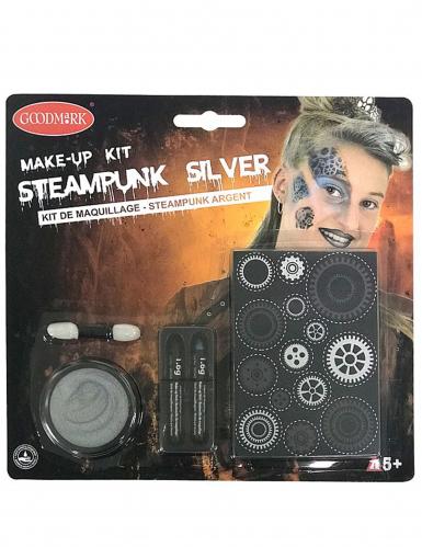Kit maquillage steampunk argent