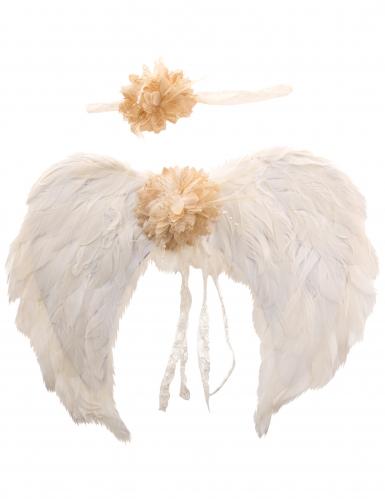 Kit ailes d'ange et bandeau adulte-2