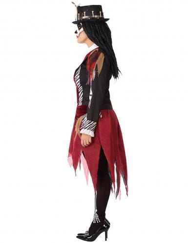 Déguisement sorcière vaudou femme grande taille-1