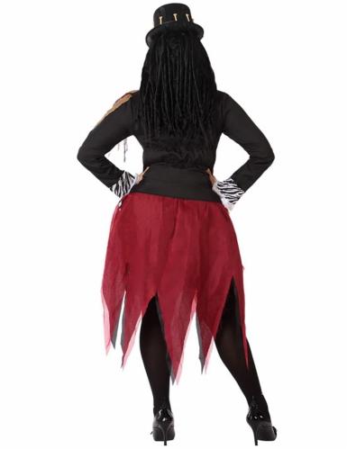 Déguisement sorcière vaudou femme grande taille-2