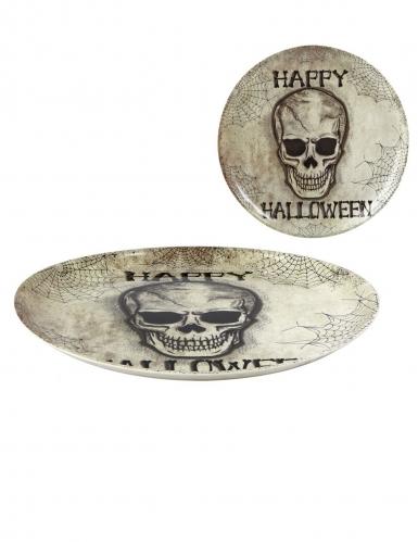 Grande assiette Happy Halloween 34 cm