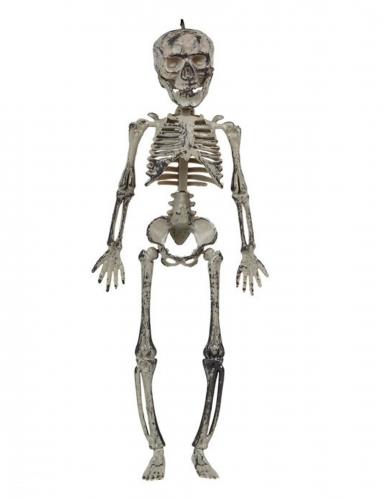 Décoration à suspendre squelette 30 cm