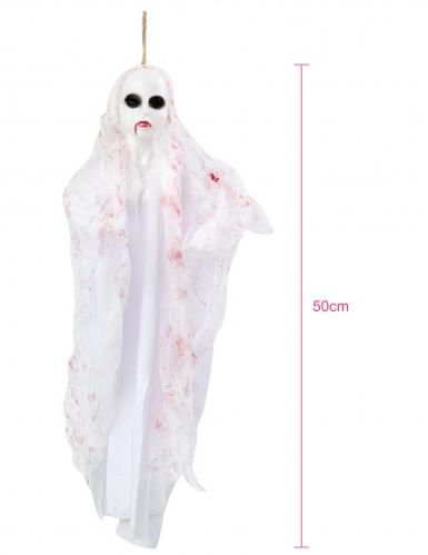 Décoration à suspendre poupée fantôme 50 cm-1