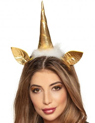 Serre-tête licorne or adulte