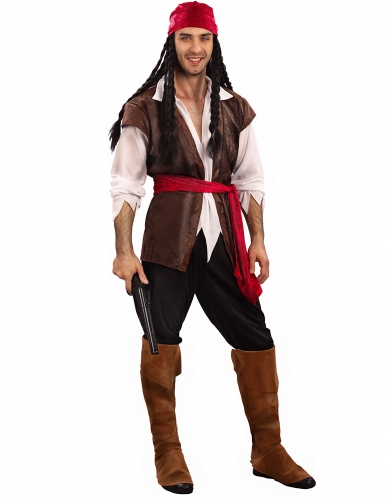 Déguisement grande taille pirate homme