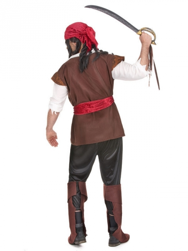 Déguisement grande taille pirate homme-1