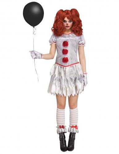 Déguisement Clown de l'enfer femme