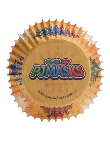 25 Moules à cupcakes en papier PJ Masks™ 5 x 3 cm-1