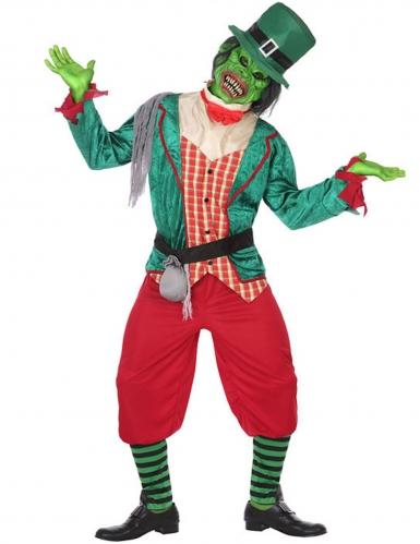 Déguisement leprechaun zombie homme