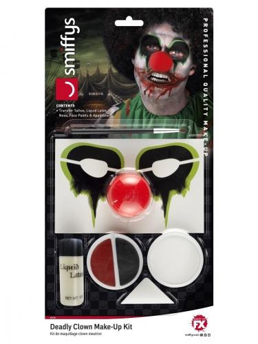 Kit maquillage clown meurtrier adulte