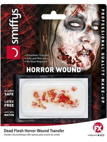 Transfert à l'eau plaie de zombie adulte