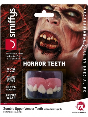 Dentier zombie luxe adulte