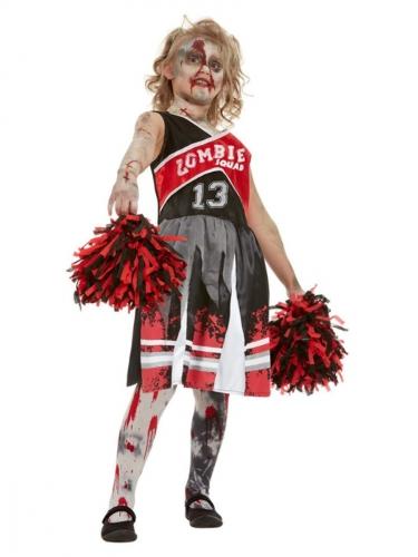 Déguisement cheerleader zombifiée fille-1