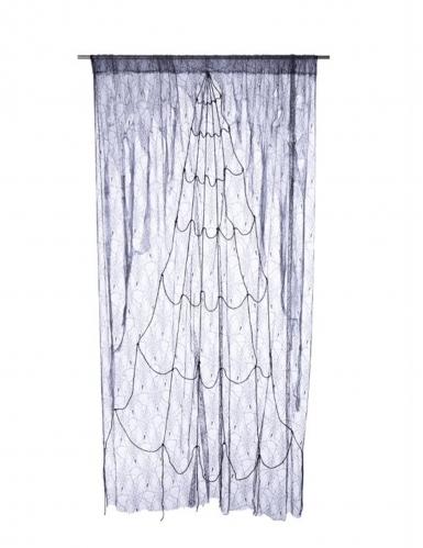 Toile d'araignée grise et noire 220 x 160 cm