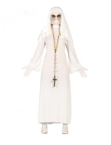 Déguisement fantôme nonne femme