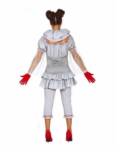 Déguisement clown psychopathe pantalon femme-1