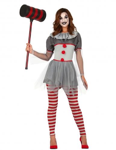 Déguisement clown psychopathe legging femme