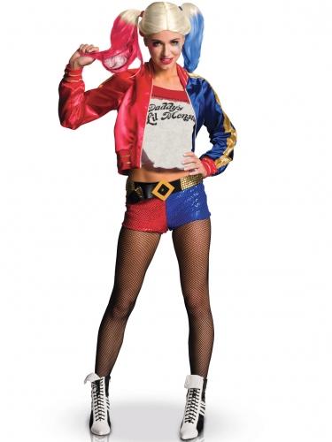 Pack déguisement et accessoire Harley Quinn femme-1