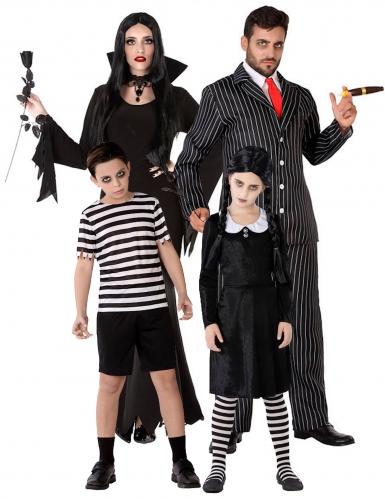 Déguisement de famille gothique Halloween