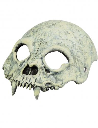 Demi-masque crâne monstre-1