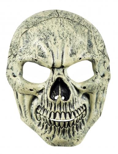 Masque visage crâne-1