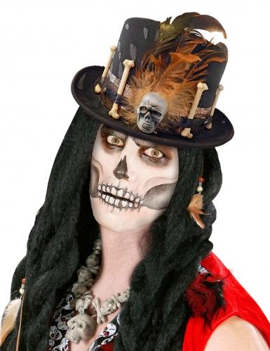 Chapeau haut de forme vaudou adulte-1