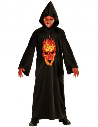 Déguisement diable faucheuse de l'enfer enfant