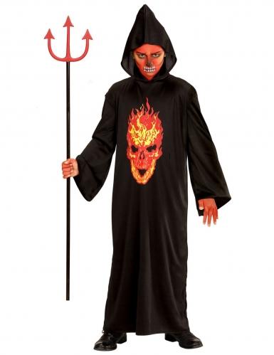 Déguisement diable faucheuse de l'enfer enfant-1